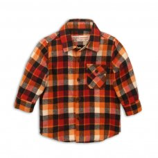 Arrow 4P: Checked Shirt (12-24 Months)