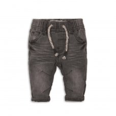 Arrow 8P: Grey Knitted Denim Jean (12-24 Months)