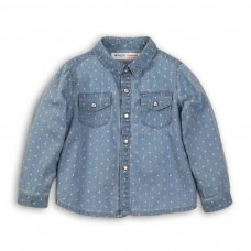 Lodge 6P: Aop Denim Shirt (3-8 Years)