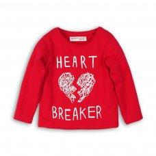 GW LTEE 20P: Girls Heart Breaker Long Sleeve Top (8-13 Years)