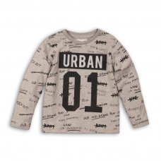 City 7P: Urban 01 L/S Top With Aop (8-13 Years)