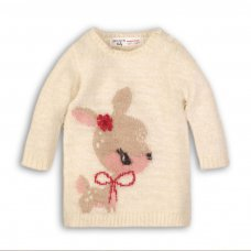 Deer 7P: Eyelash Knit Dress (12-24 Months)