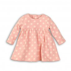 Deer 8P: Aop Fleece Dress With Fur Lining (12-24 Months)
