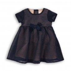 Dress Up 1P: Striped Organza Dress  (12-24 Months)