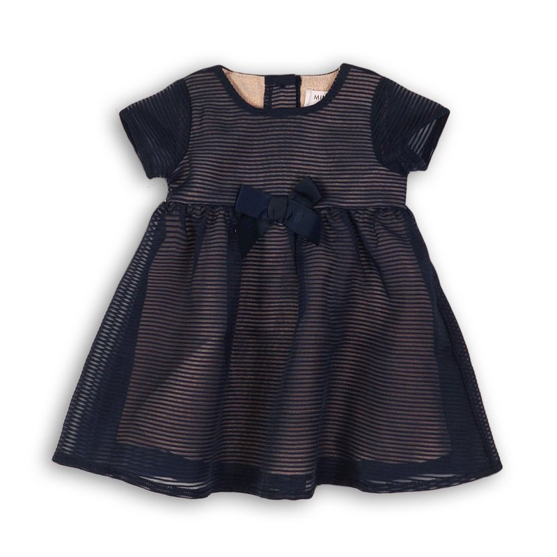 Dress Up 1P: Striped Organza Dress  (12-24 Months)