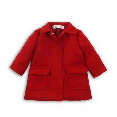 Dress Up 2P: Wool Coat With Dtm Satin Lining (12-24 Months)