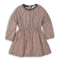 Lodge 3P: Aop Viscose Dress (3-8 Years)