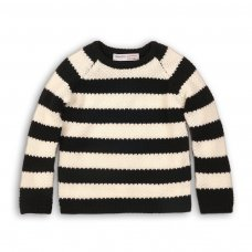 Mix 8P: Striped Jumper With Badge Detail (3-8 Years)