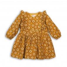 Owl 6P: Aop Woven Dress (12-24 Months)