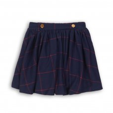 Prep 10P: Brushed Checked Skirt (3-8 Years)