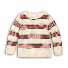 Prep 2P: Multi Striped Knitted Jumper (3-8 Years)