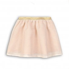 Time 11P: Organza Mesh Striped Skirt (3-8 Years)