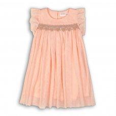 Time 2P: Glitter Mesh Layered Dress (3-8 Years)