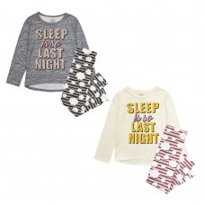 "15C473: Infant Girls ""Sleep Is So Last Night"" Pyjama (4-7 Years)"