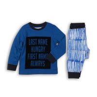 HWX 201P: Boys Last Name Hungary Pyjama Set (8-13 Years)