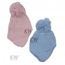 6014: Baby Multi Knit Nepalese Hat (6-18 Months)