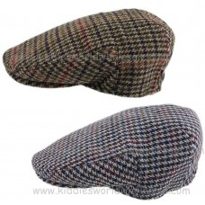KIDS6184: Boys Wool Flat Cap (1-4 Years)