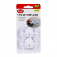 UK style Plug Socket Covers (6 Pack)