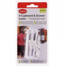 Cupboard Locks (6 Pack)