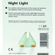 Night Light - UK 3 Pin