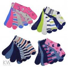 AT40: Kids 7 Pack Assorted Design Socks