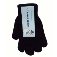 AT64: Childrens Black Magic Gloves