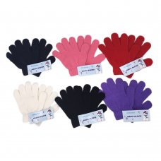 AT64CL: Childrens Assorted Colours Magic Gloves