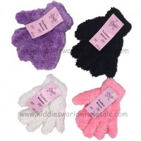 AT94: Girls Feather Gloves