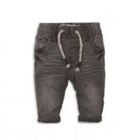 Arrow 8: Grey Knitted Denim Jean (0-12 Months)