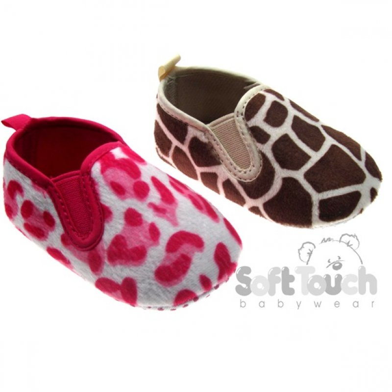 B2056: Baby Animal Print Shoes (0-12 Months)