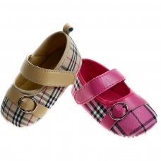B2060: Girls PU Shoes (0-12 Months)