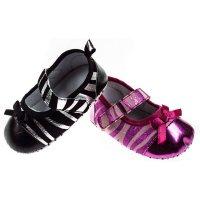 B2062: Girls Animal PU shoes (6-15 Months)