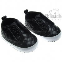 B2064: Boys Double Velcro Shoes (6-15 Months)