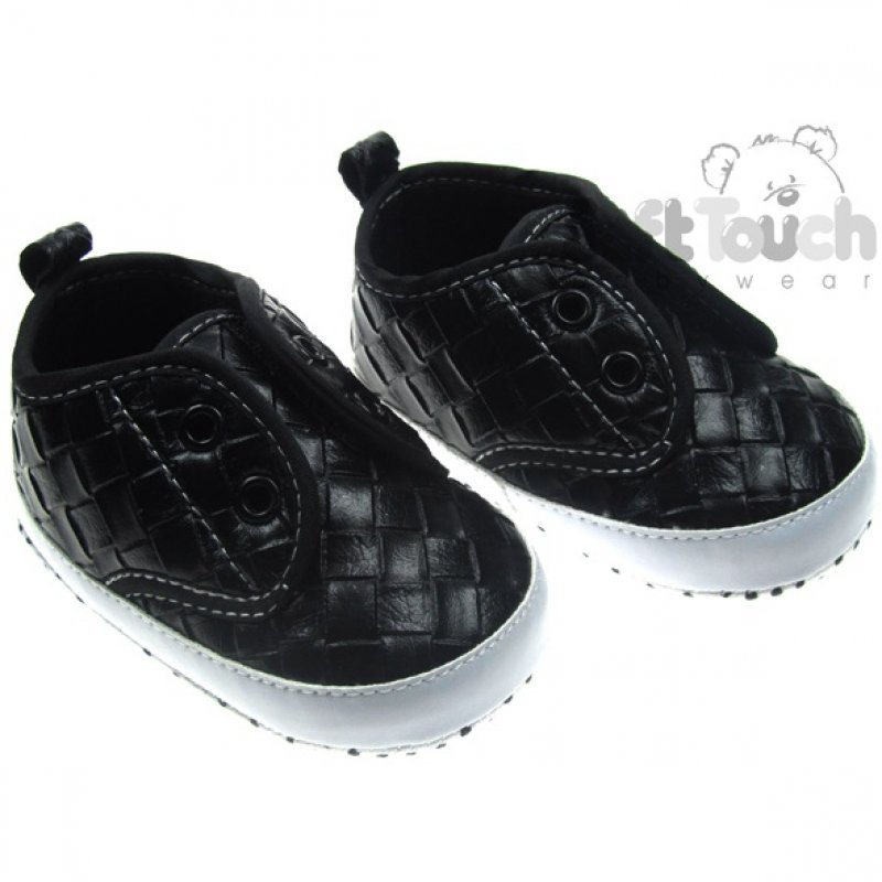B2064: Boys Double Velcro Shoes (6-15 Months)