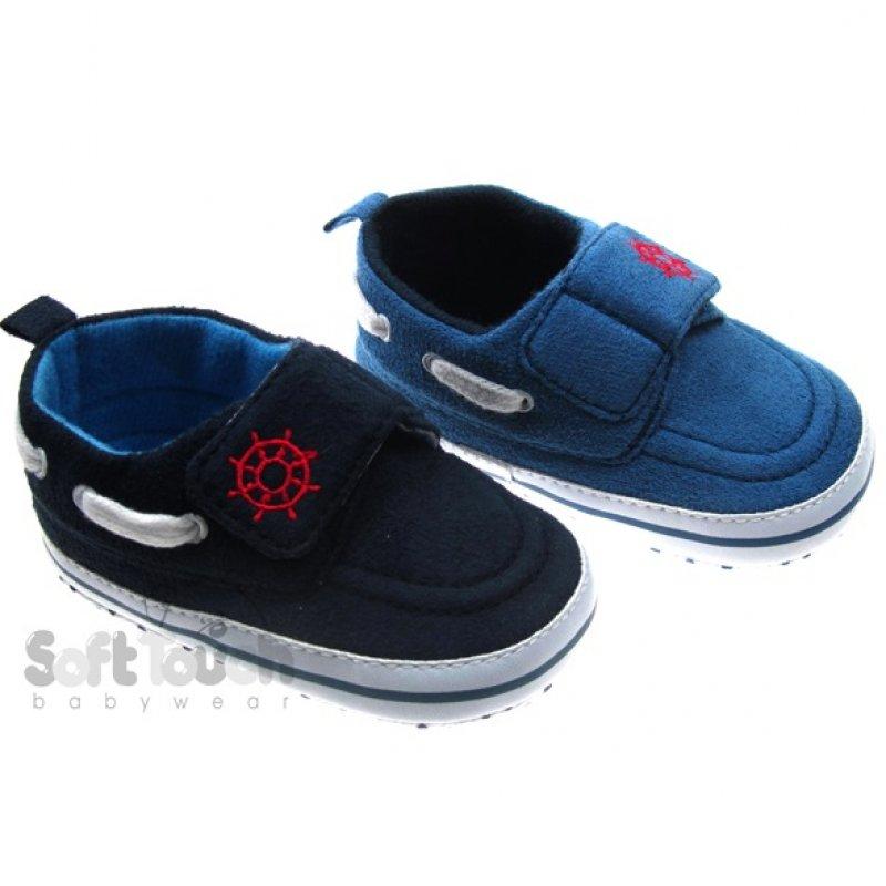 B2088: Boys Cotton Shoes (0-12 Months)