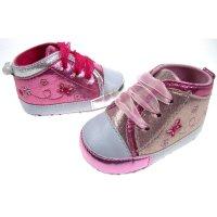 B2120: Girls Shiny PU Shoes (6-15 Months)