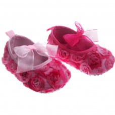 B2158: Rose Flower Shoes (6-15 Months)