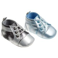 B2168: Iced Shiny PU Shoes (6-15 Months)