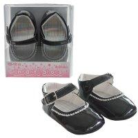 B2178-B: PU Shoes w/Velcro Strap (6-15 Months)