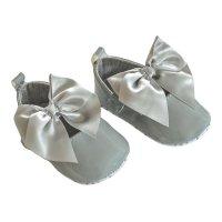 B2228-G: Shiny PU Shoes (0-12 Months)