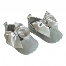 B2228-G: Shiny PU Shoes (0-12 Months)