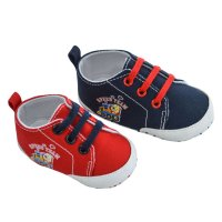 B2232: Cotton Twill Shoes (6-15 Months)