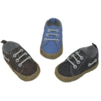 B2238: Cotton Twill Shoes (6-15 Months)