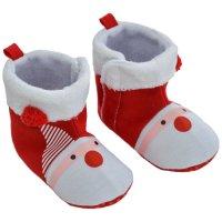 B2248-X: Xmas Santa Boots (6-15 Months)