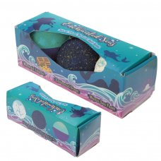 BATH33: Set of 3 Enchanted Seas Mermaid Bath Bombs - Exotic Scents