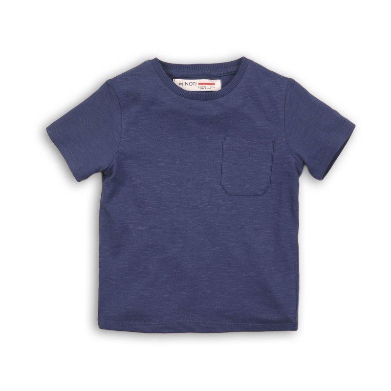 BBS58: navy basic slub t shirt (1-3 Years)