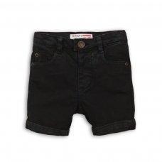 BBS81: black twill short (1-3 Years)