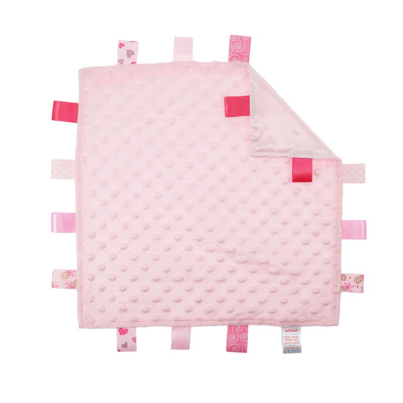 BC15-P: Bubble Comforters with Taggies (Pink Only)
