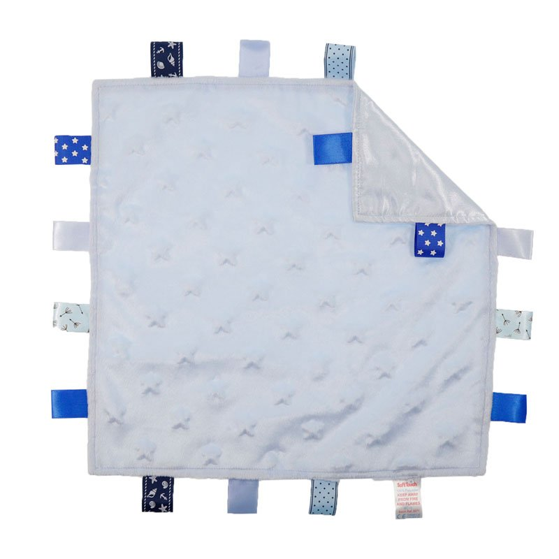 BC16-B: Star Comforters with Taggies (Blue Only)