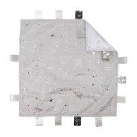 BC20-G: Grey Comforter w/Moon & Print